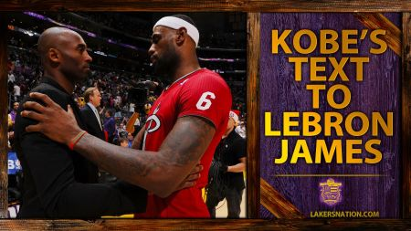 Kobe Bryant sent trash-talking text message to LeBron James in 2010