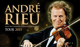 Andre Rieu and his Johann Strauss Orchestra tickets at Ericsson Globe in Stockholm