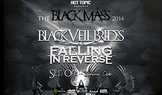 Black Veil Brides & Falling In Reverse tickets at The Warfield in San Francisco