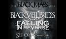 Black Veil Brides w/ Falling In Reverse tickets at Royal Oak Music Theatre in Royal Oak
