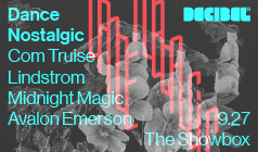 Com Truise, Lindstrom tickets at The Showbox in Seattle