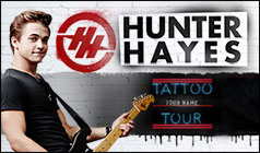 Hunter Hayes tickets at Best Buy Theater in New York