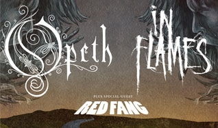 Opeth & In Flames tickets at The Warfield in San Francisco