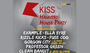 Kiss 100 Haunted House Party tickets at Eventim Apollo in London