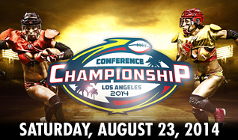 Legends Football League Conference Playoffs tickets at Citizens Business Bank Arena in Ontario