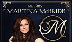 Martina McBride tickets at Count Basie Theatre in Red Bank
