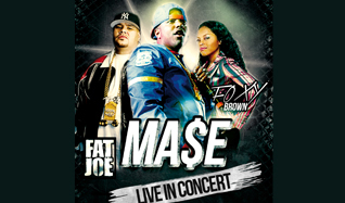 Mase Live in Concert Plus Support from Fat Joe and Foxy tickets at indigo at The O2 in London