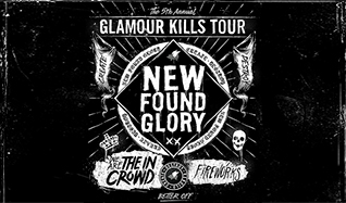 New Found Glory tickets at The Regency Ballroom in San Francisco