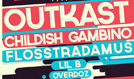Outkast, Childish Gambino, Flosstradamus tickets at NOS Events Center in San Bernardino