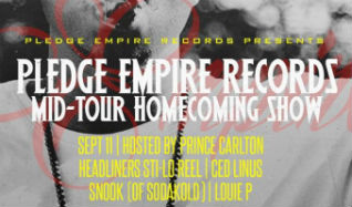 Pledge Empire Records Mid-Tour Homecoming Show in The Nether Bar tickets at Mill City Nights in Minneapolis