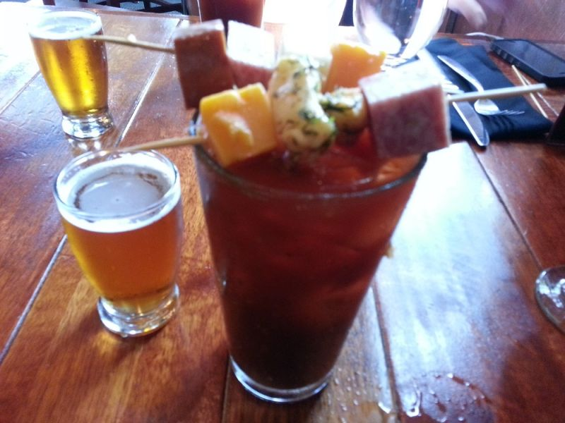 Bloody good Bloody Mary Bars in Minneapolis-St. Paul
