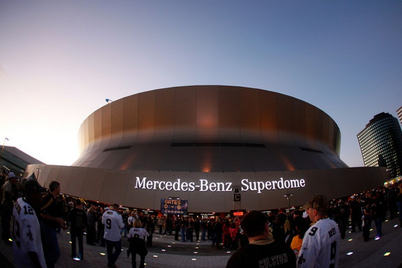 Best local transportation to get to the mercedes benz for Mercedes benz new orleans