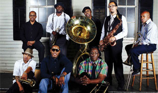 Rebirth Brass Band tickets at Gothic Theatre in Englewood