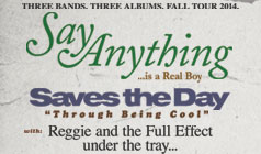 Say Anything and Saves The Day tickets at Starland Ballroom in Sayreville