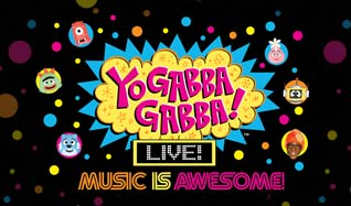 Yo Gabba Gabba! Live! tickets at Count Basie Theatre in Red Bank