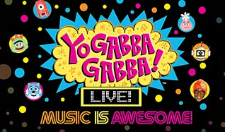 Yo Gabba Gabba! Live! tickets at Verizon Theatre at Grand Prairie in Grand Prairie