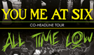 You Me At Six /  All Time Low Co-Headline Tour tickets at LG Arena in Birmingham