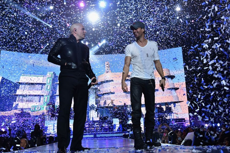 In Photos: Enrique Iglesias and Pitbull's new tour is a non-stop party