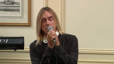 The godfather of punk Iggy Pop is still tearing up the stage