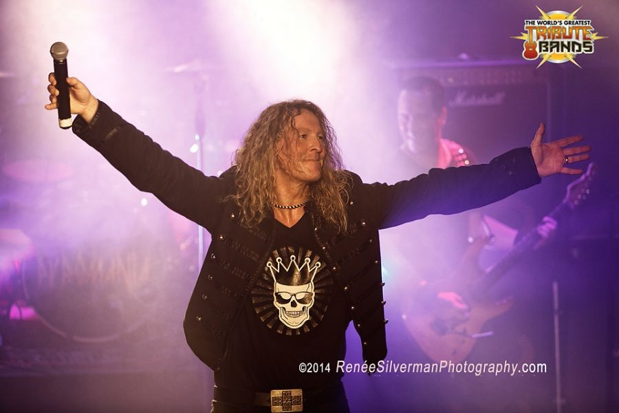 Def Leppard tribute band Pyromania doing what they love
