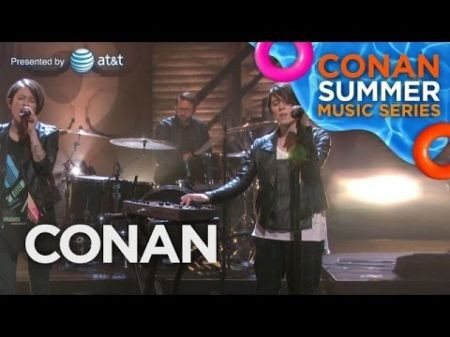 Watch Tegan and Sara perform 'I Was A Fool' on Conan O'Brien