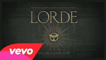 Lorde releases single 'Yellow Flicker Beat' for 'Hunger Games: Mockingjay Pt 1'