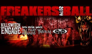 98.9 The Rock's Freakers Ball 2014 tickets at Arvest Bank Theatre at The Midland in Kansas City