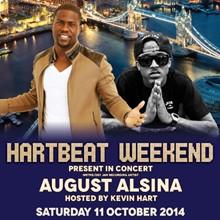 August alsina tour dates in Hamilton