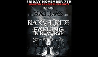 Black Veil Brides w/ Falling In Reverse tickets at Showbox SoDo in Seattle