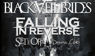Black Veil Brides w/ Falling In Reverse tickets at MYTH in St. Paul