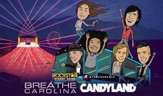 Breathe Carolina & Candyland tickets at Mill City Nights in Minneapolis