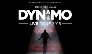 Dynamo  tickets at O2 Apollo Manchester in Manchester