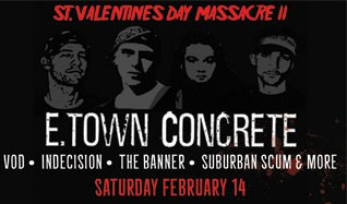 E.Town Concrete tickets at Starland Ballroom in Sayreville