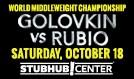 Golovkin vs. Rubio tickets at StubHub Center in Carson