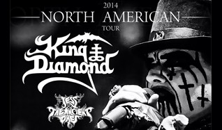 King Diamond tickets at The Warfield in San Francisco