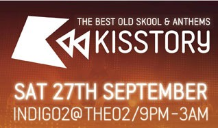 Kisstory tickets at indigo at The O2 in London