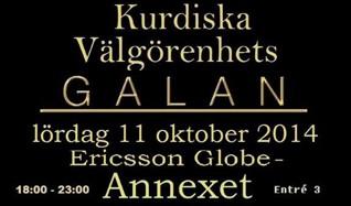 Kurdiska Välgörenhetsgalan tickets at Annexet in Stockholm