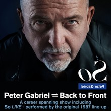 Peter Gabriel tickets at Motorpoint Arena Cardiff in Cardiff