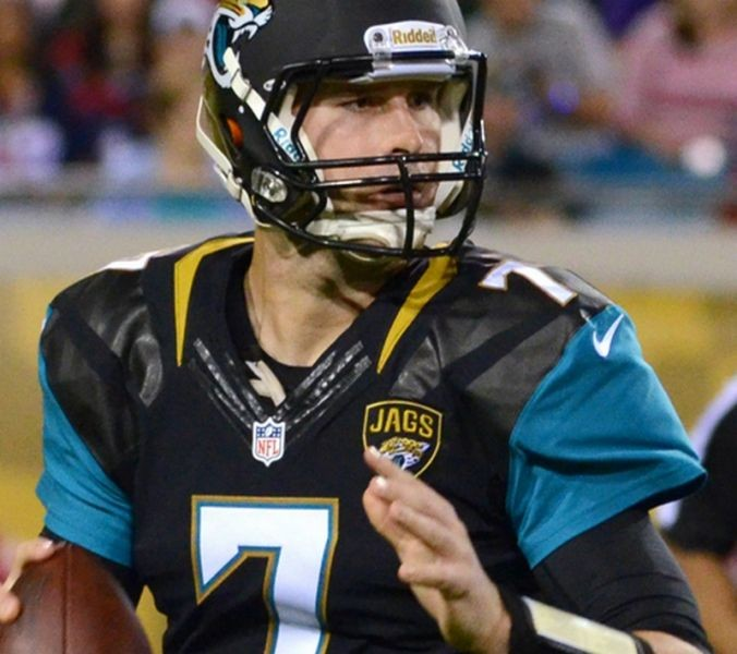 Blake Bortles to get first start for Jacksonville Jaguars in week four