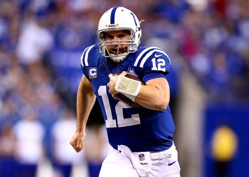 Colts Andrew Luck throws an almost perfect game against the Jaguars