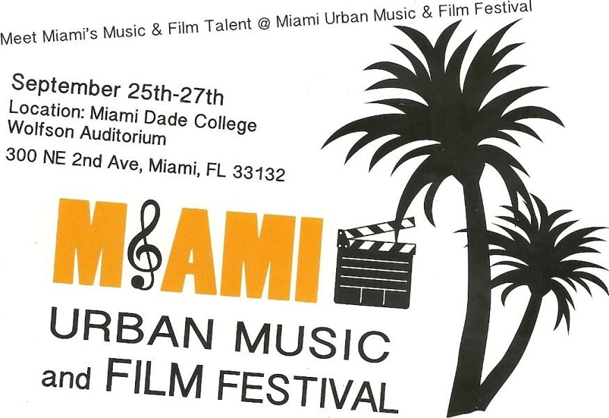 Local entertainment community welcomes the Miami Urban Music and Film Festival