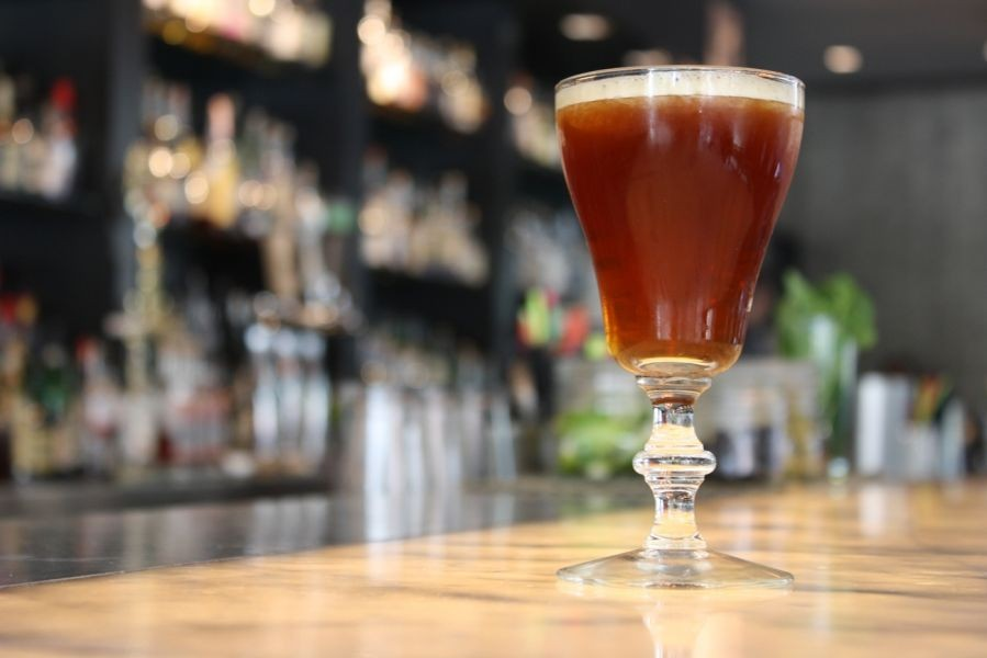 Fall cocktails in Chicago featuring seasonal flavors