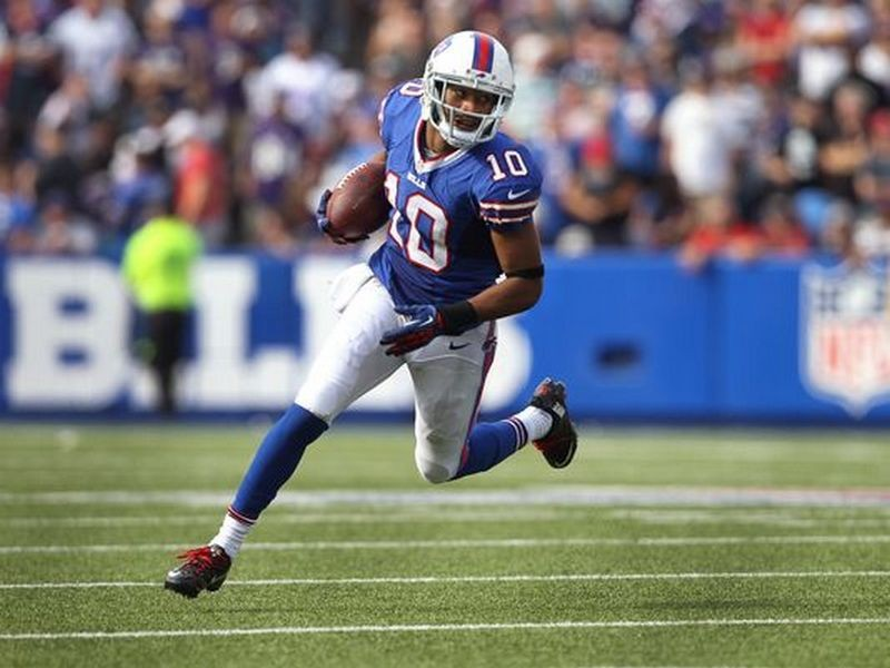 Wide receiver Robert Woods land on Bills first injury report for week three