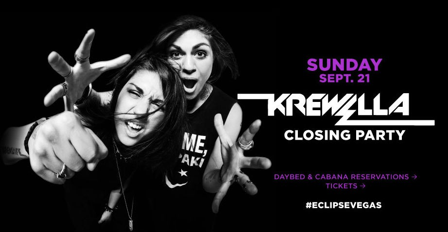 Krewella hosts ECLIPSE closing party at Daylight Beach Club