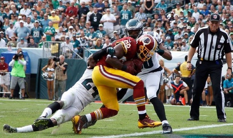 Redskins drop heartbreaker in 37-34 loss to undefeated Eagles