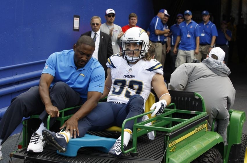 Danny Woodhead out for the season?