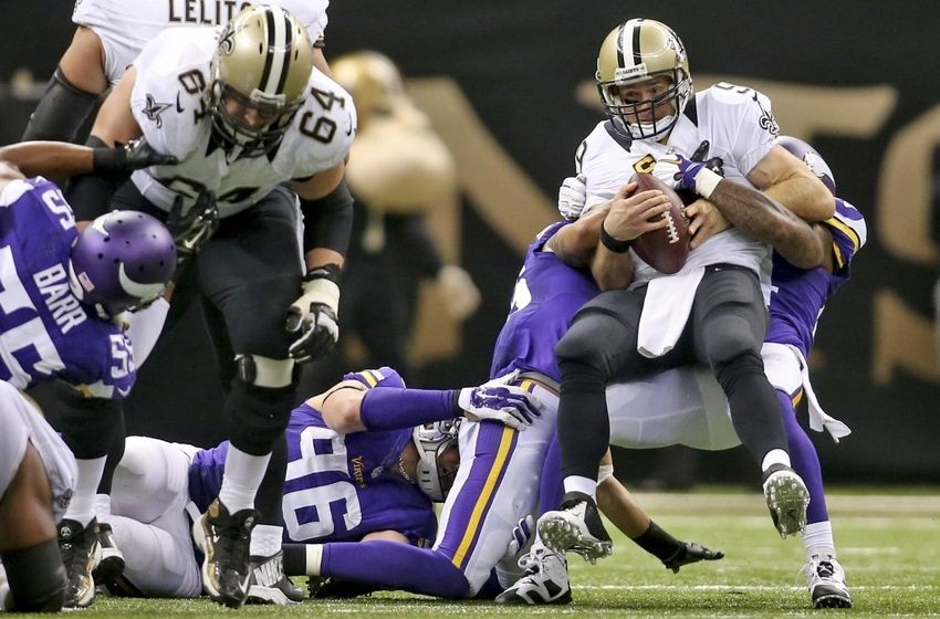 Vikings Captain Munnnerlyn downplays suplex on Saints Drew Brees