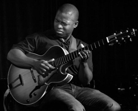 Wes Montgomery, one of jazz's original guitar heros, was an obvious starting point for East Bay guitar wizard Terrence Brewer. But just a st