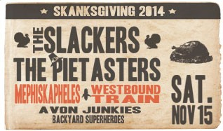The Slackers, The Pietasters, Mephiskapheles & Westbound Train tickets at Starland Ballroom in Sayreville