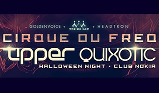 Tipper and Quixotic tickets at Club Nokia in Los Angeles